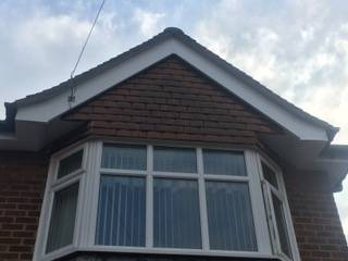 cleaned soffits and facias