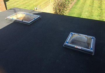 high quality work on flat roof chobham
