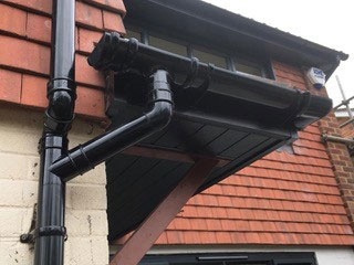 fitted new guttering