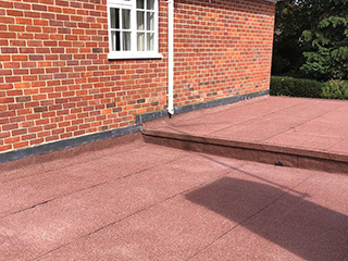 flat roof designed by our experts