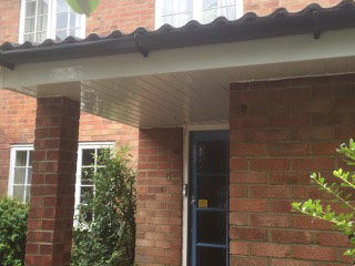 installed essential soffits and facias