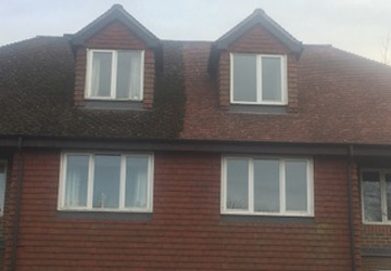 our client house repaired roof