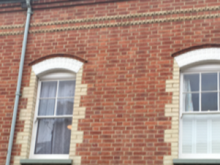 re-pointing work done by our team